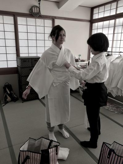 Nagajuban undergarments